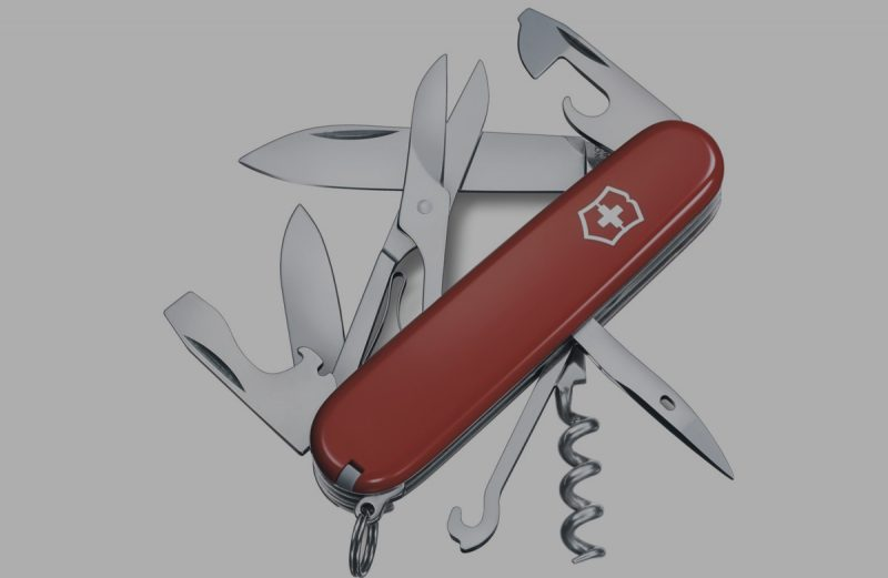 Victorinox Army Swiss Climber Pocket Knife
