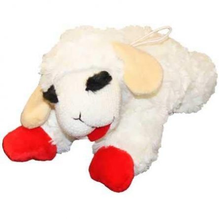 Multipet Lamb Chop Classic Plush Toy (3 Sizes)