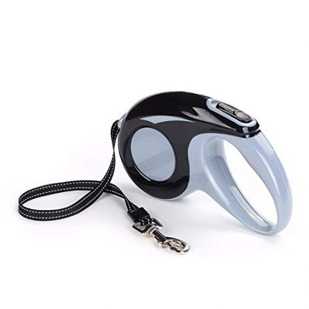 Security Retractable Dog LEASH, 16.5′ Pet Scalable...