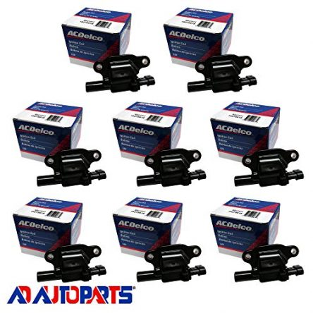 New AD Auto Parts OEM Ignition Coil Set (8) For For...