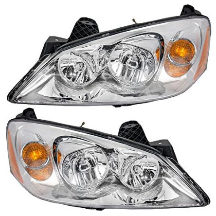 Aftermarket Replacement Driver and Passenger Set Headlights...